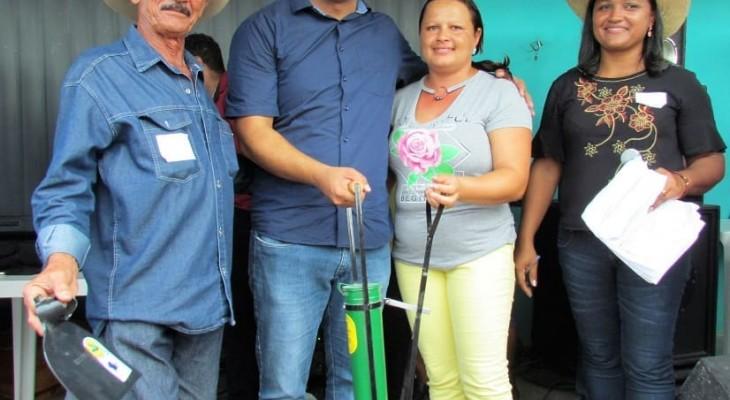 A Associação Rural São José, realizou nesta terça-feira (01), a 1° Festa do Trabalhador.